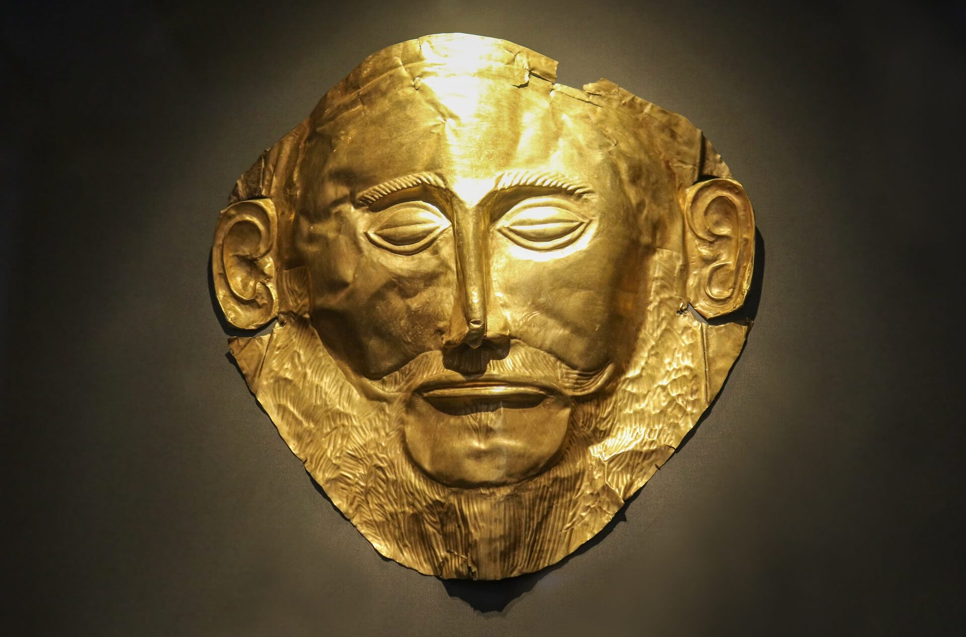 Maska Agamemnona Mona Lisa Prehistorii Tajemnice